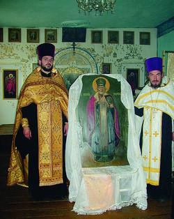Возвращение иконы Св. Николая Чудотворца