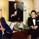 С Ильей Глазуновым