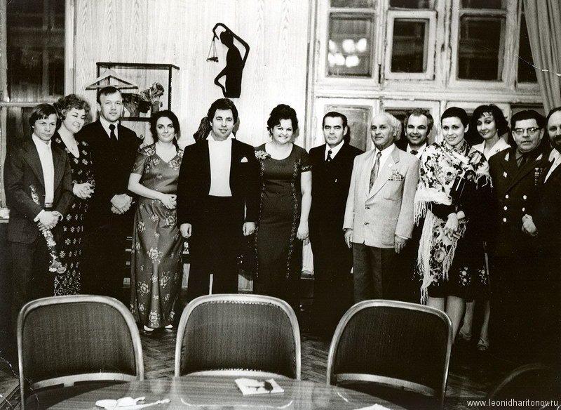 После концерта в зале им. Чайковского
