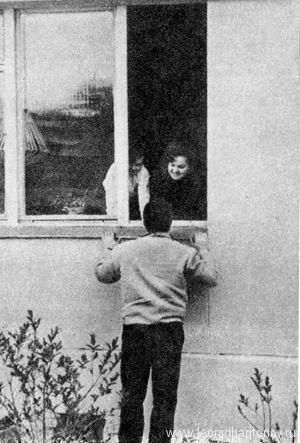 У родного окна