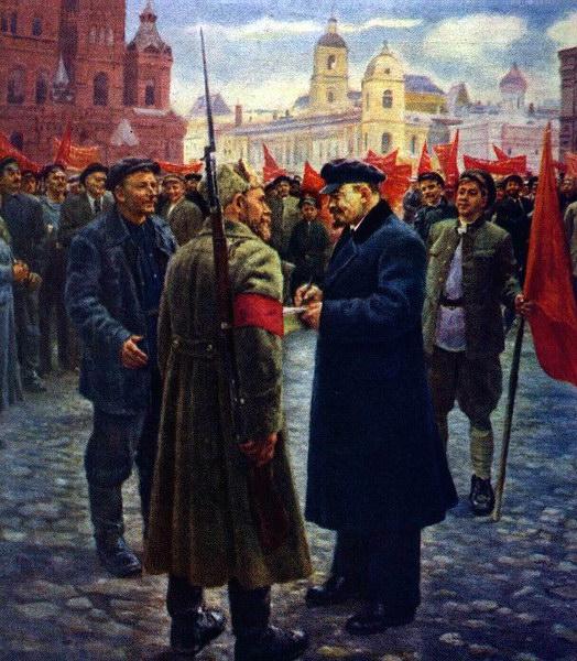 В.И.Ленин в 1919 году.